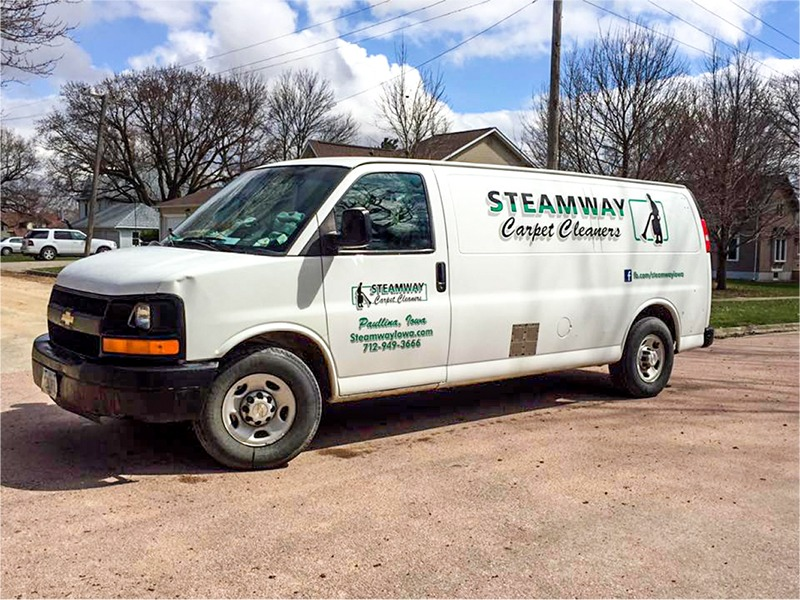 Steamway Carpet Cleaners Van